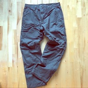 Gray Eddie Bauer pants - like Carharts